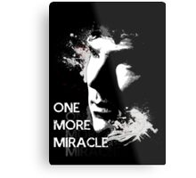 Sherlock - One More Miracle Metal Print