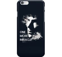 Sherlock - One More Miracle - BLUE (Iphone & Ipad ONLY) iPhone Case/Skin