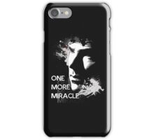 Sherlock - One More Miracle - GREY (Iphone & Ipad ONLY) iPhone Case/Skin
