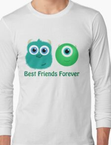 Best Friends, Mike and Sully Long Sleeve T-Shirt