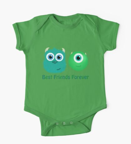 Best Friends, Mike and Sully One Piece - Short Sleeve
