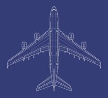 Airbus A380 Blueprint by zoidberg69