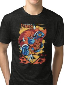 The Legend Of Power Tri-blend T-Shirt