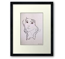 Darling Framed Print