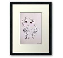 Darling Framed Print
