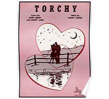 TORCHY (vintage illustration) Poster