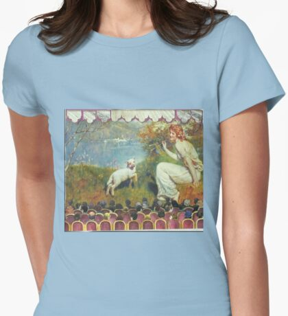 """""""Spring Song"""" Tableaux Womens Fitted T-Shirt"""