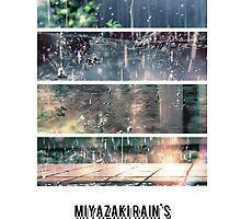 If rain was love, world will be happier .. - Miyazaki is the God. by alish