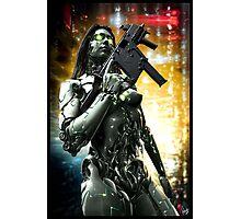 Cyberpunk Photography 046 Photographic Print