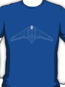 Gotha/Horten 229 Flying Wing Blueprint T-Shirt