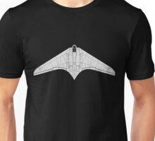 Gotha/Horten 229 Flying Wing Unisex T-Shirt