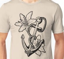 Anchor and Lilies Unisex T-Shirt
