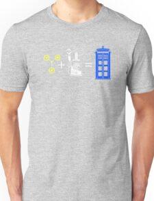 Time Travel Equation Unisex T-Shirt