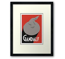 Biere Gandalf  Framed Print