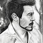 Robert Downey Jr. by okayseesee