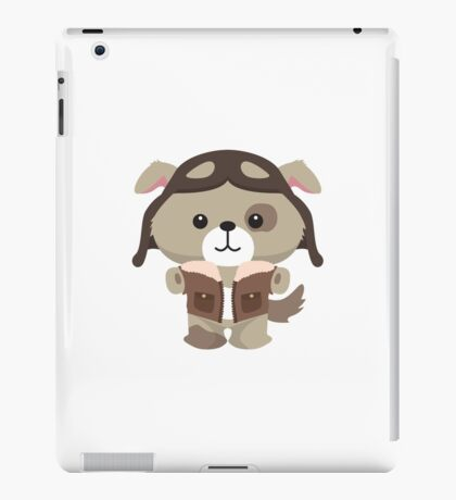 Little Pilot Pup Dog iPad Case/Skin