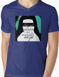 Let's Fall Apart Together Now Mens V-Neck T-Shirt