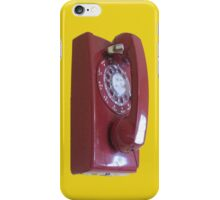 Don't Touch That Dial iPhone Case/Skin