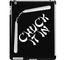 Chuck It In iPad Case/Skin