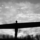 Angel Dawn (BW) by John Dunbar