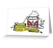 C3V Central Virginia Vintage Volkswagen Greeting Card