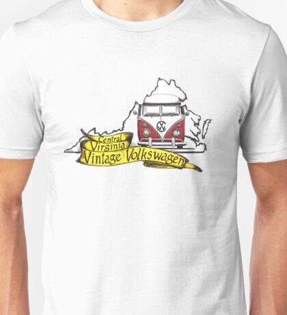C3V Central Virginia Vintage Volkswagen Unisex T-Shirt