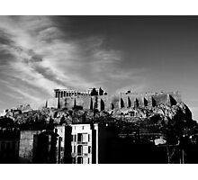 Akropolis Photographic Print