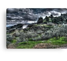 HDR Field Canvas Print