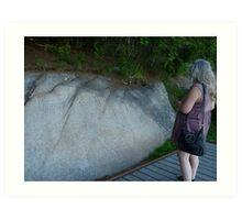 Rock Images Art Print
