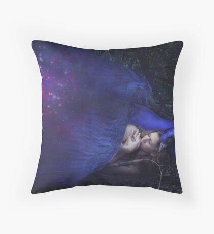 Night Sky Bird Throw Pillow