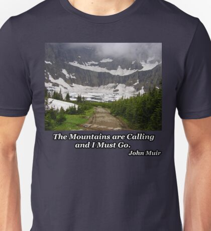 Iceberg Lake Unisex T-Shirt
