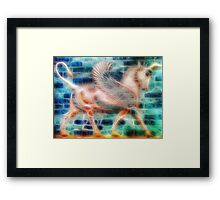 ©DA Pegasus Paintography I Framed Print