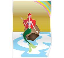 Origami - Mermaid Poster