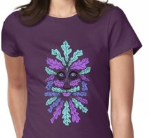 Wacky Greenman Womens Fitted T-Shirt