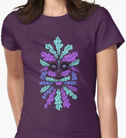 Wacky Greenman Womens Fitted T-Shirt