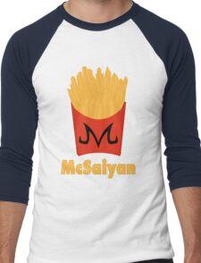 Super McSaiyan Men's Baseball ¾ T-Shirt