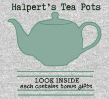 Halpert's Tea Pots by chelsri