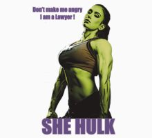 She Hulk, Don't make me angry I am a Lawyer! by philupdaTank