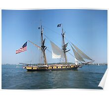 Tall Ship Niagara Poster