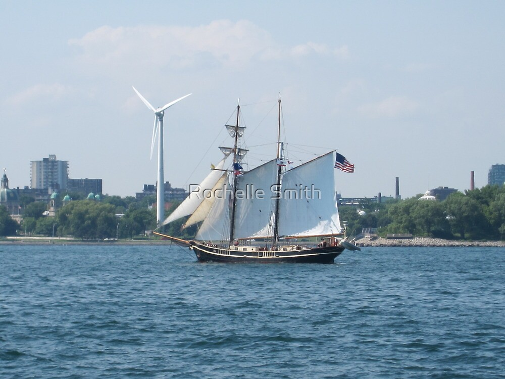Sails and wind power by Rochelle Smith