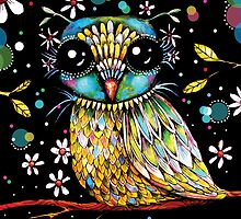 The Peridot Owl by © Karin (Cassidy) Taylor