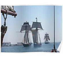 Three Ships Poster
