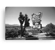 Route 66 - Hill Top Motel Canvas Print