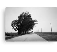 Oklahoma Route 66, 2012, B&W. Canvas Print