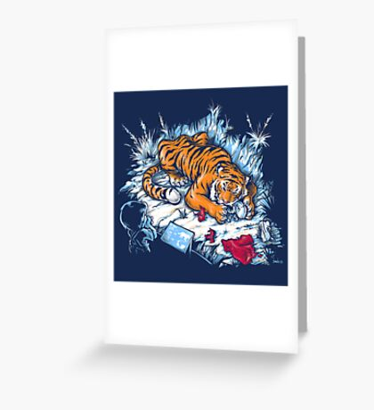 Homicidal Psycho Jungle Exhibit Greeting Card