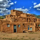 Pueblo de Taos by Diana Graves Photography