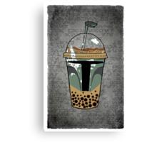 Boba Tea Canvas Print