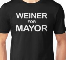 Weiner For Mayor T-Shirt Unisex T-Shirt