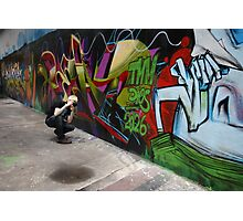 Graffiti Appreciation Photographic Print