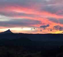 Mt Warning Angel Cloud by Clare McClelland